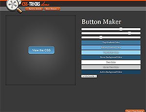 CSS Tricks Button Maker